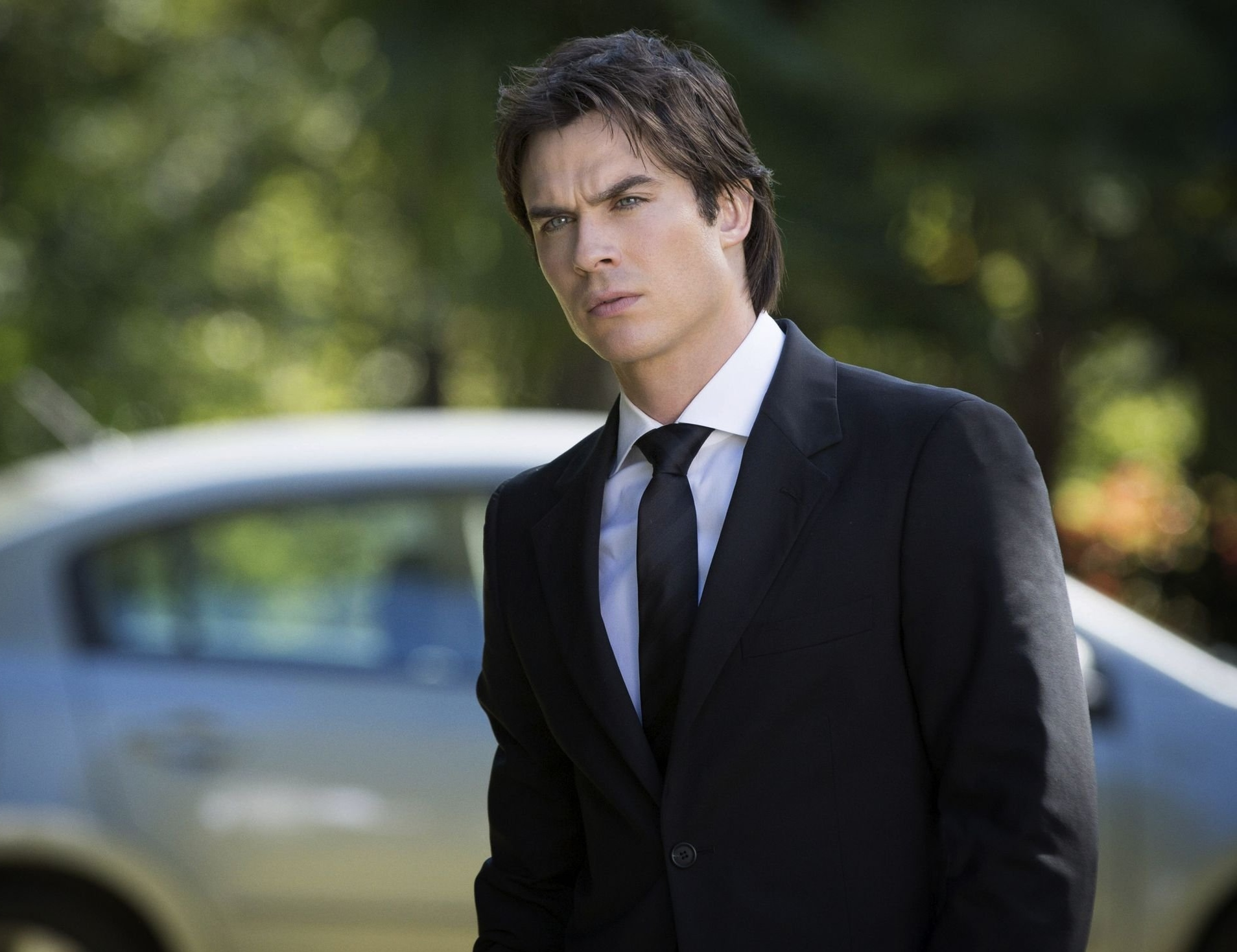 Ian Somerhalder in a suit.