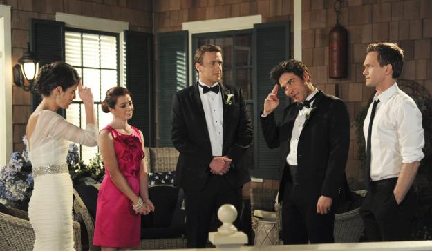Ted, Robin, Marshall, Lily and Barney.