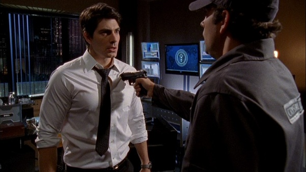 Zachary Levi, Chuck, Brandon Routh, Daniel Shaw
