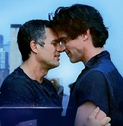Matt Bomer, Mark Ruffalo, The Normal Heart