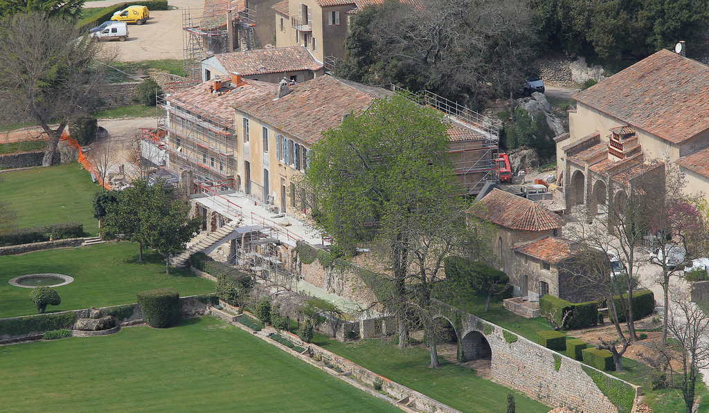 Chateau Miraval, Angelina Jolie, Brad Pitt