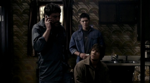 Jensen Ackles, Jared Padalecki, Jeffrey Dean Morgan, Supernatural