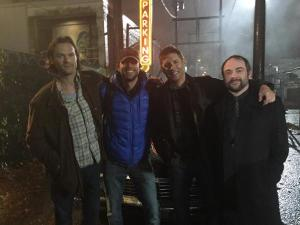 Zachary Levi, Jared Padalecki, Jensen Ackles, Mark Sheppard