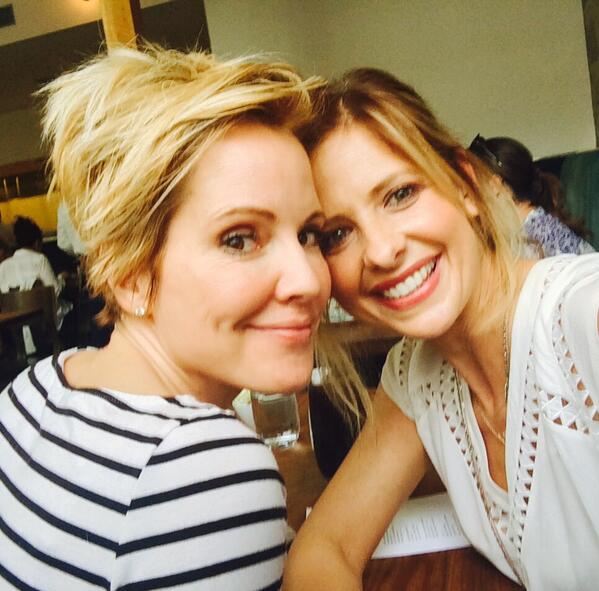 Sarah Michelle Gellar, Emma Caulfield, Buffy