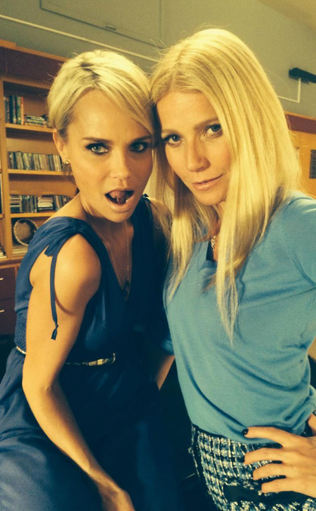 Gwyneth Paltrow, Kristin Chenoweth, Glee