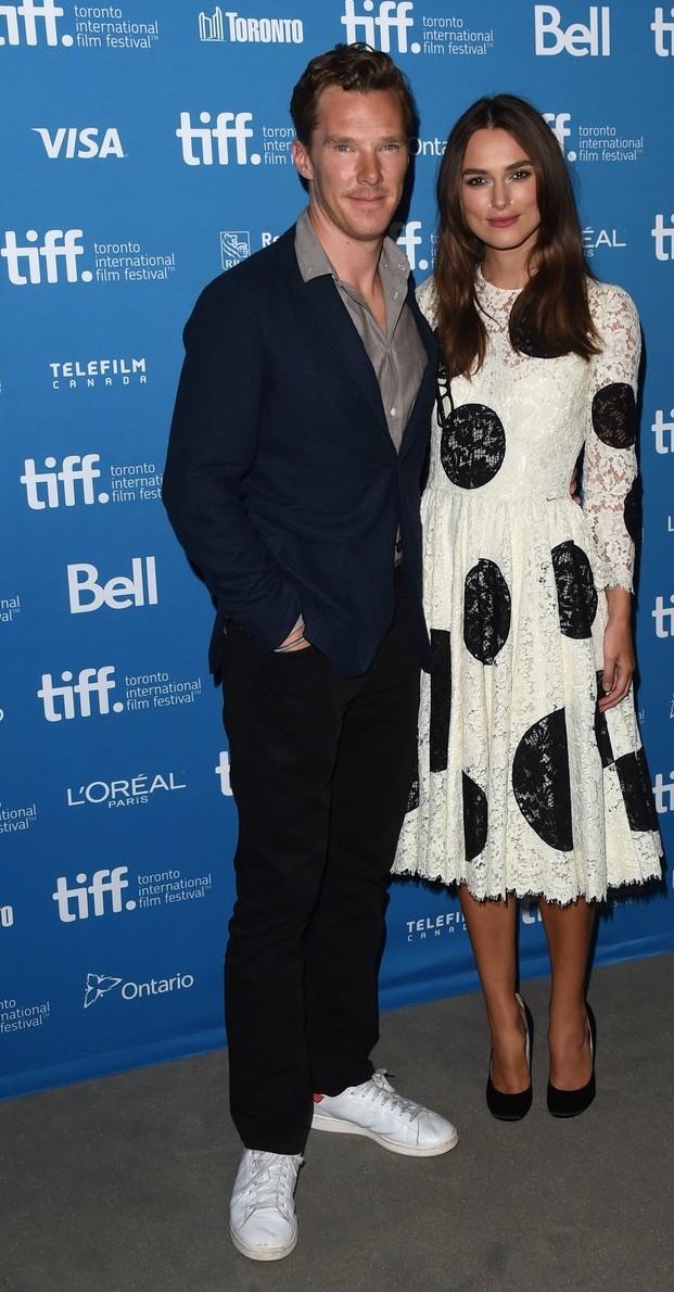 Keira Knightley, Benedict Cumberbatch