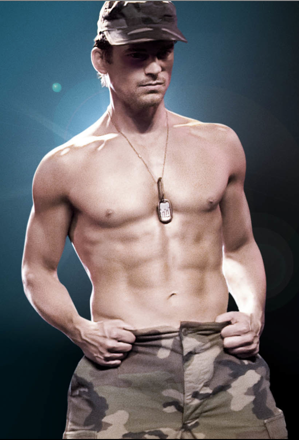 Matt Bomer, Magic Mike