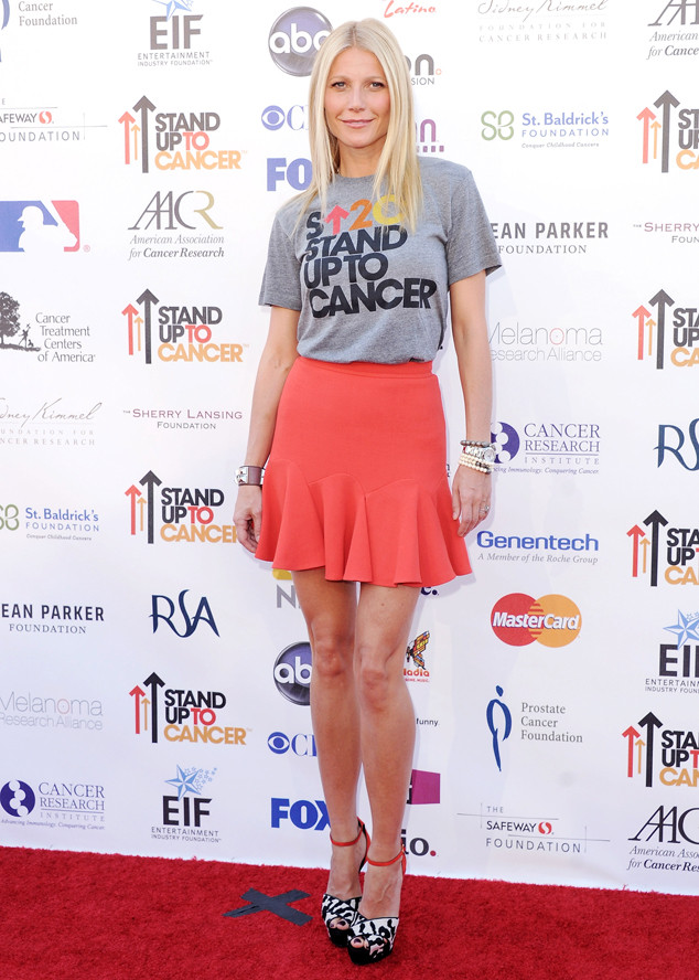 Gwyneth Paltrow, Stand Up 2 Cancer