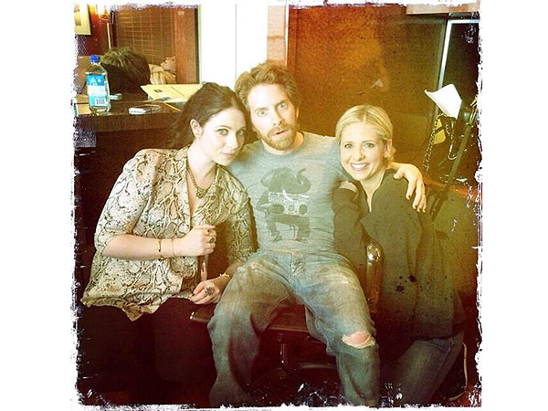 Sarah Michelle Gellar, Seth Green, Michelle Trachteberg, Buffy
