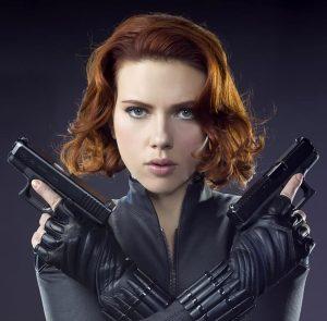 Scarlett Johansson, Black Widow, Natasha Romanoff
