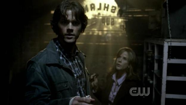 Jared Padalecki, Sam Winchester, Linda Blair, Supernatural