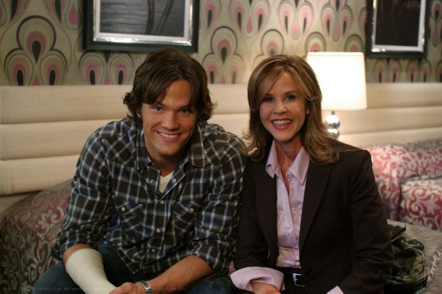 Jared Padalecki, Linda Blair