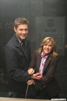 Jensen Ackles, Linda Blair