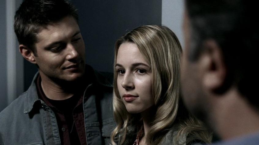 Jensen Ackles, Dean Winchester, Alona Tal, Jo Harvelle, Supernatural