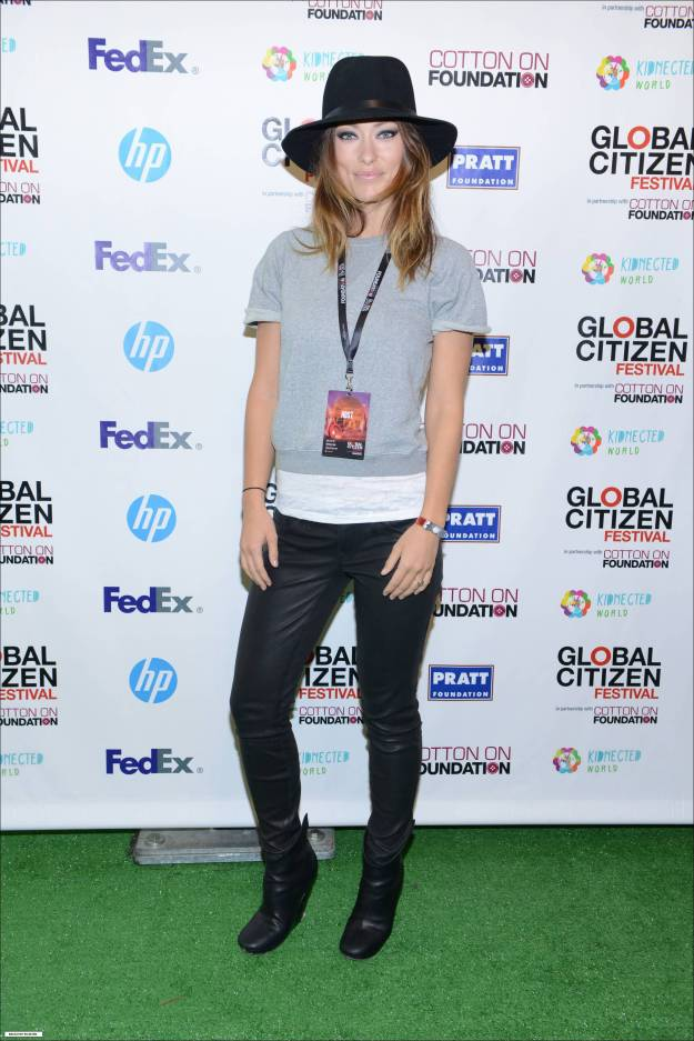 Olivia Wilde, Global Citizen Festival