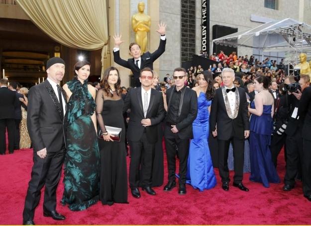 U2, Benedict Cumberbatch