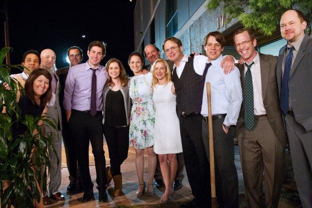The Office, John Krasinski, Steve Carrell, Jenna Fisher