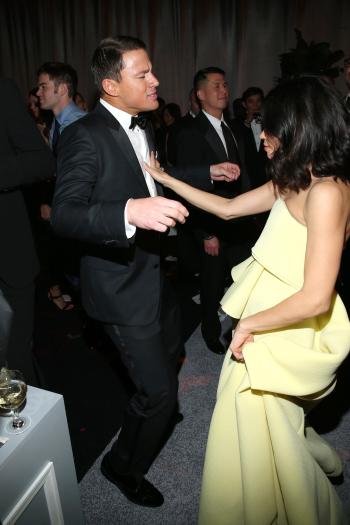 Channing Tatum, Jenna Dewan, Golden Globes