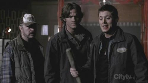 Jensen Ackles, Jared Padalecki, Dean Winchester, Sam Winchester, Supernatural, Jim Beaver, Bobby Singer