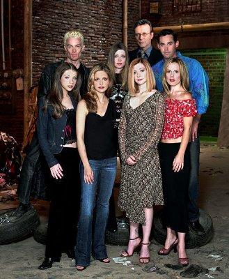 Buffy, Sarah Michelle Gellar, Alyson Hannigan, James Marsters, Anthony Stewart Head, Michelle Trachtenberg