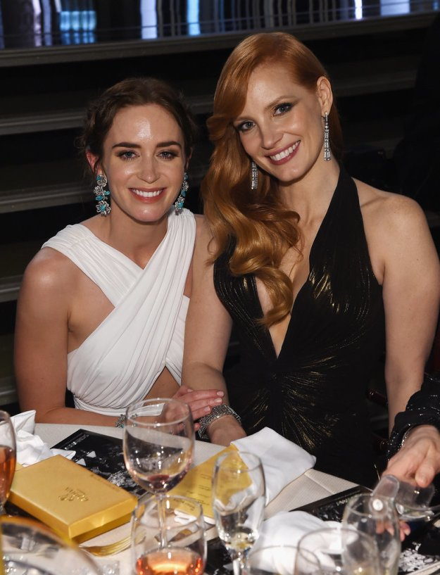 Jessica Chastain, Emily Blunt