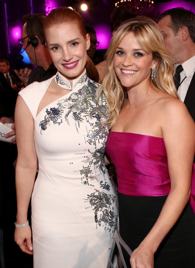 Jessica Chastain & Reese Witherspoon