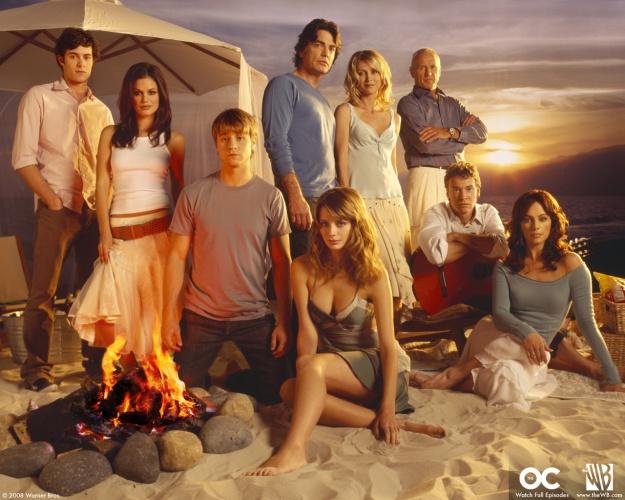 The OC, Rachel Bilson, Adam Brody, Ben McKenzie, Melinda Clarke, Peter Gallagher