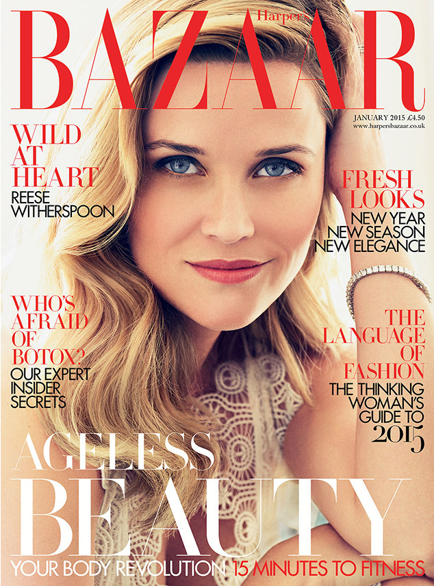 Reese Witherspoon Covers Harper's Bazaar U.K. | Music In the Dark