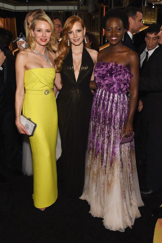 Jessica Chastain, Naomi Watts, Lupita Nyongo