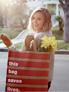 Kristen Bell, This Bag Saves Lives