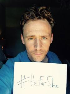 Tom Hiddleston, HeForShe