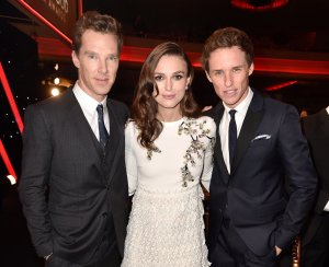 Keira Knightley, Benedict Cumberbatch, Eddie Redmayne