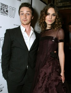 Keira Knightley, James McAvoy