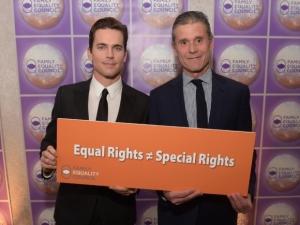Matt Bomer, Simon Halls, Family Equality Council