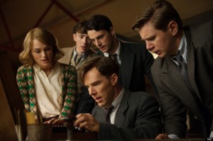 Benedict Cumberbatch, Keira Knightley, Matthew Goode, The Imitation Game