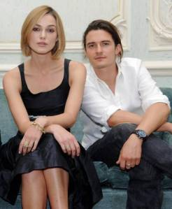 Keira Knightley, Orlando Bloom