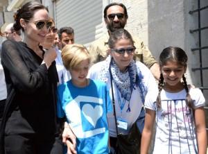 Angelina Jolie, Shiloh Jolie Pitt, UNHCR
