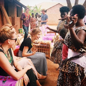 Sophia Bush, Uganda