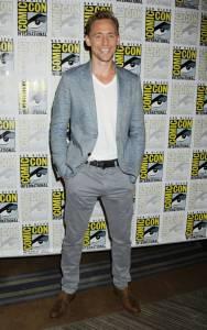 Tom Hiddleston, Comic con