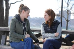 Still Alice, Julianne Moore, Kristen Stewart