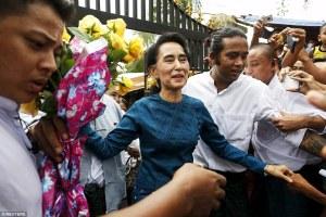 Aung Suun Suu Kyi