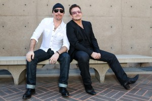 Bono&Edge040@ (Palm Springs Film Festival)