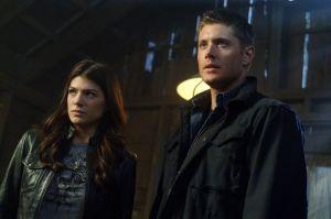Jensen Ackles, Dean Winchester, Genevieve Cortese, Ruby, Supernatural