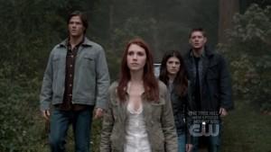Jensen Ackles, Dean Winchester, Jared Padalecki, Sam Winchester, Genevieve Cortese, Ruby, Anna, Supernatural