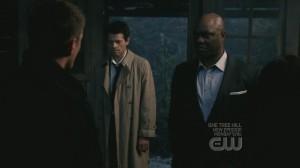Jensen Ackles, Dean Winchester, Misha Collins, Castiel, Uriel