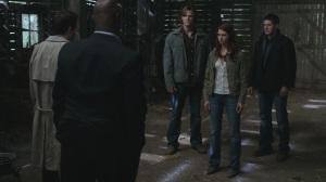 Jensen Ackles, Dean Winchester, Jared Padalecki, Sam Winchester, Anna, Misha Collins, Castiel, Uriel, Supernatural