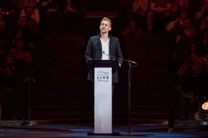 Tom Hiddleston, Letters Live