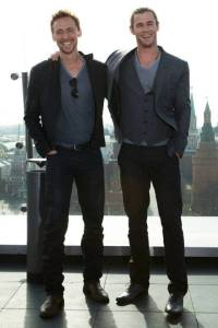 Tom&Chris003 (Thor the Dark World premiere)