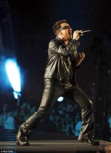 Bono, U2, innocence+experience tour