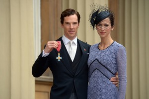 Benedict Cumberbatch, Sophie Hunter, Buckingham Palace